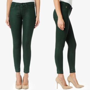 Hudson Jeans - Green Nico Super Skinny Midrise